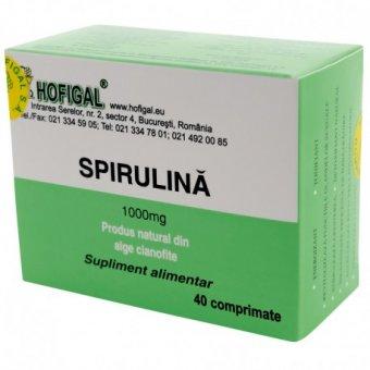 Complex detoxifiant, 40 comprimate, Hofigal : Farmacia Tei online