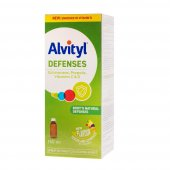 Alvityl Defenses + vitamina D sirop fara zahar, 150 ml, Urgo