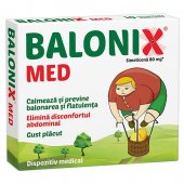 Balonix Med, 10 comprimate, Fiterman Pharma