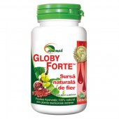 Globy Forte, Antianemic natural, 100 tablete, Ayurmed