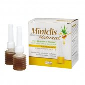 Miniclis Natural microclisme adulti, 6 bucati x 10 g, Sella Farmaceutici