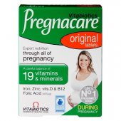 Pregnacare original, 30 tablete, Vitabiotics