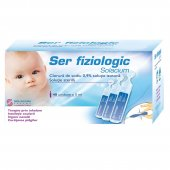 Ser fiziologic, 40 doze, 5 ml, Solacium Pharma