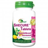 Shecure, Reechilibrant hormonal, 100 tablete, Ayurmed
