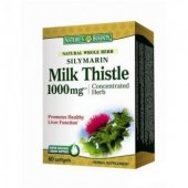Silymarin Milk Thistle 1000 mg, 60 capsule, Nature's Bounty