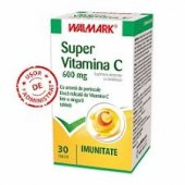 Super Vitamina C 600 mg, 30 tablete, Walmark