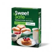 Sweet & Safe - Indulcitor natural cu extract de stevie, 350 grame, Sly Nutritia