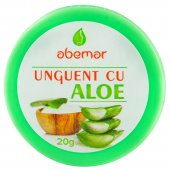 Unguent cu aloe, 20 grame, Abemar Med